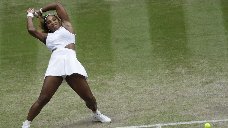 Serena Williams und Halep in den Halbfinals